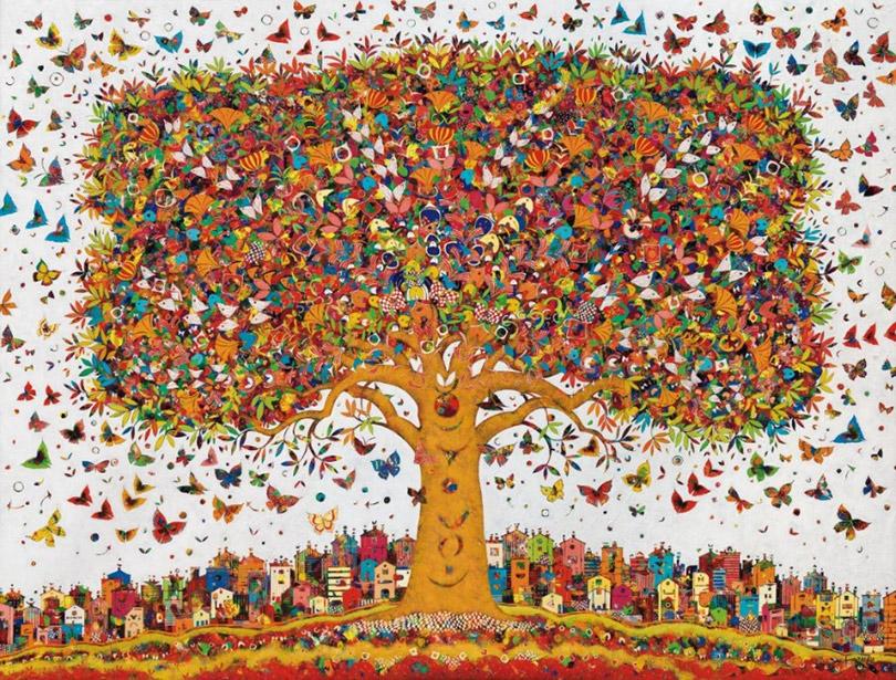 《生命之光》— 巴黎巴赫利耶画廊让-弗朗索瓦·拉赫优个展