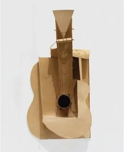 巴勃罗·毕加索 《吉他》 1912年