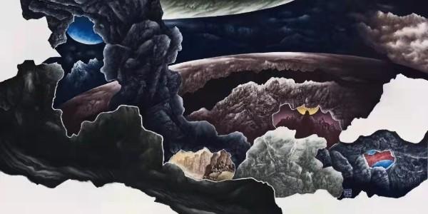 YJ严颉转载|【姬子艺术】山水画表现的新维度新图象新境界