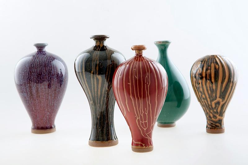 黄严颉收藏的陶瓷艺术品