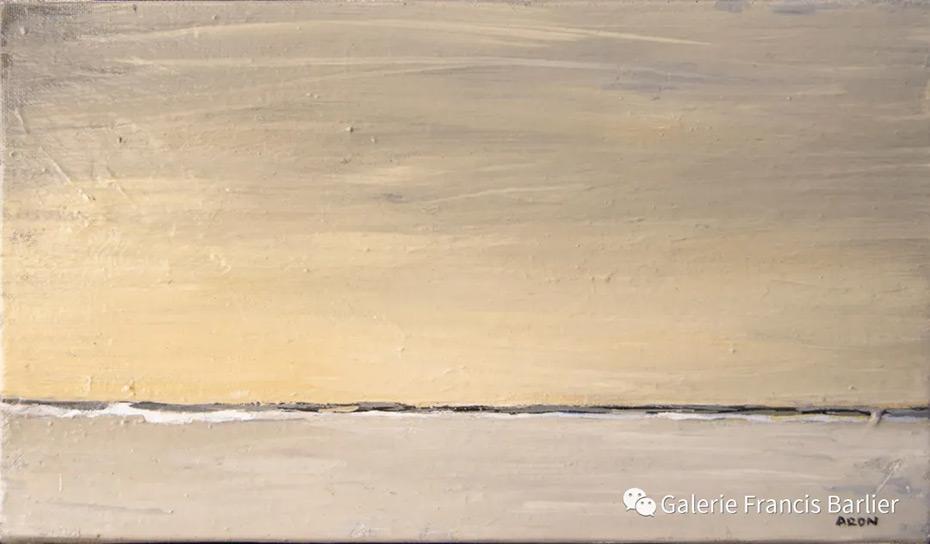 印象 雷米·艾融 2019年 19x33cm 布面油画