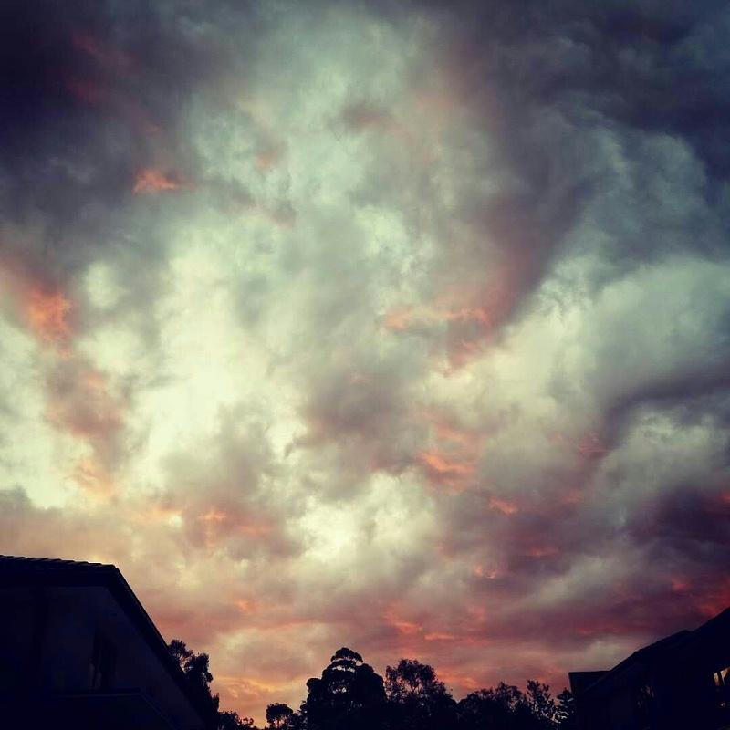 摄影作品《墨尔本的天空》系列3